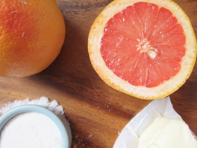 Grapefruit cake 9