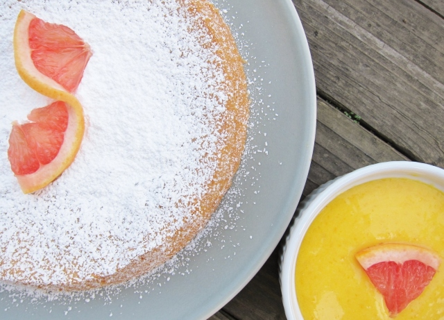 Grapefruit cake 1