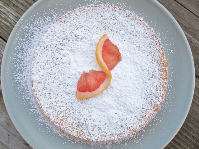Grapefruit cake 5