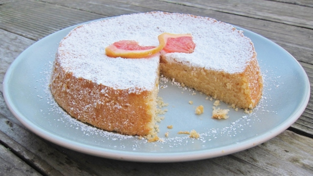 Grapefruit cake 8