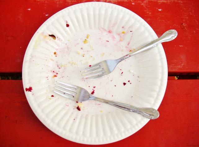 Only crumbs left