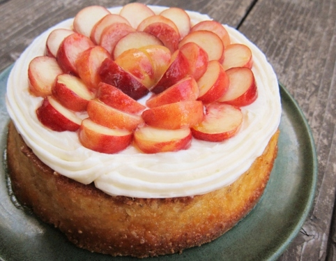 The hazelnut cake