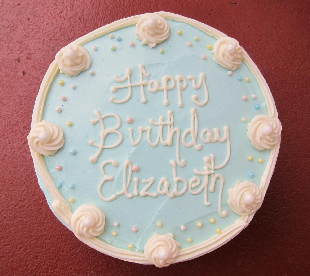 Elizabeths Birthday Cake 2012 1