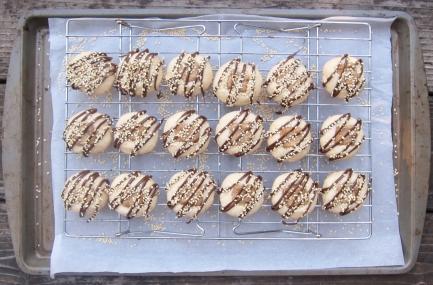 Halvah cookies (12)