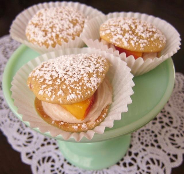 Peach whoopie pies (10)