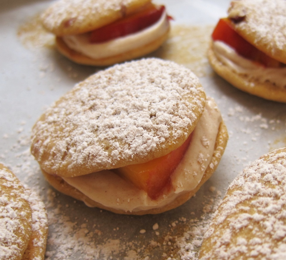 Peach Whoopie Pies 6