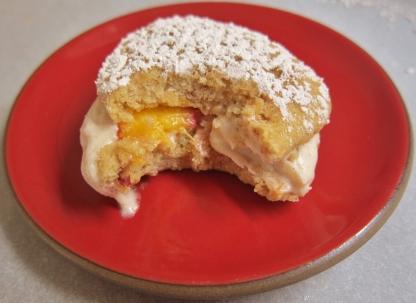 Peach whoopie pies (8)