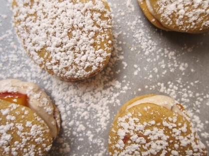 Peach whoopie pies (9)