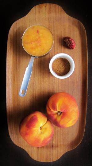 Peach whoopie pies