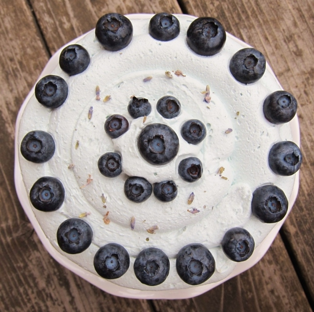 Blueberry Lavender cake (12)