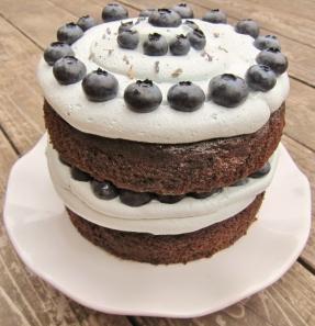Blueberry Lavender cake (13)
