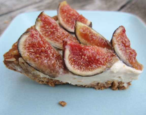 ... tart with white wine custard fresh fig tart with orange flower custard