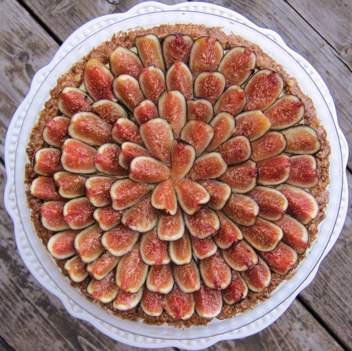Fresh Figs and Mascarpone: A Cardamom Custard Pie | butter, sugar ...