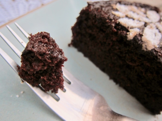 Orange & Black Olive Chocolate Cake (10)