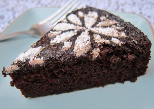 Orange & Black Olive Chocolate Cake (11)