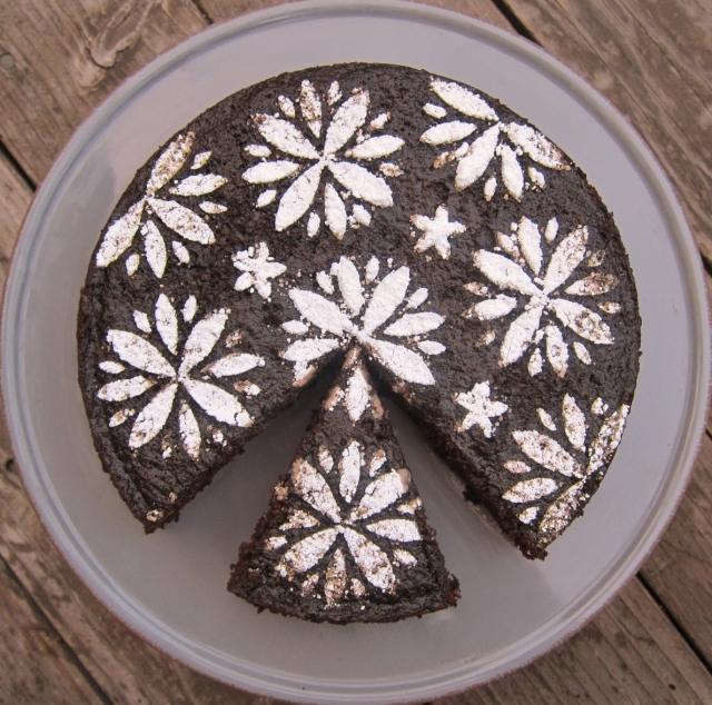 Orange & Black Olive Chocolate Cake (13)