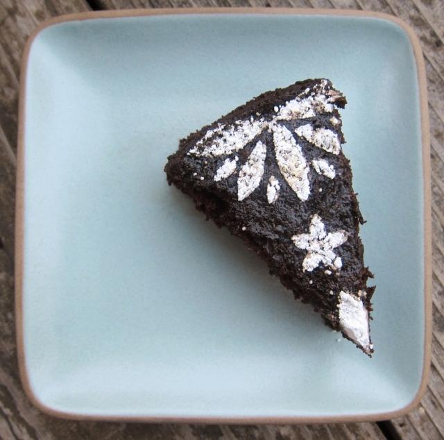Orange & Black Olive Chocolate Cake (15)