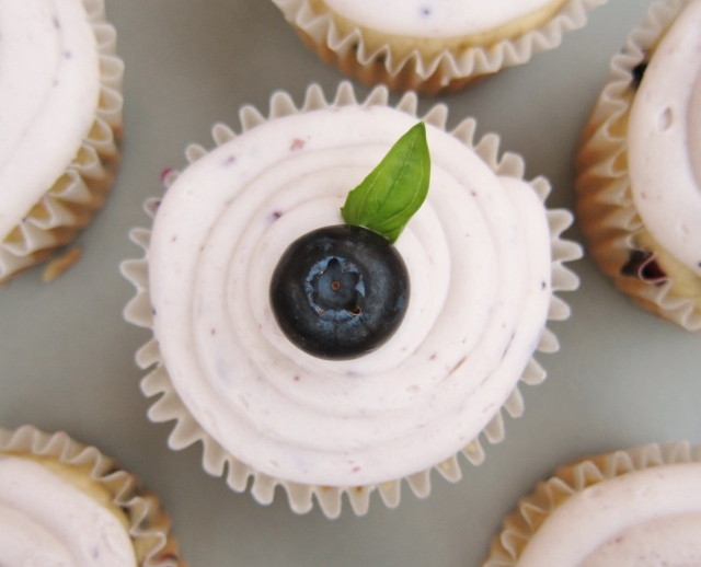 Blueberry Bourbon Basil Cupcakes (26)