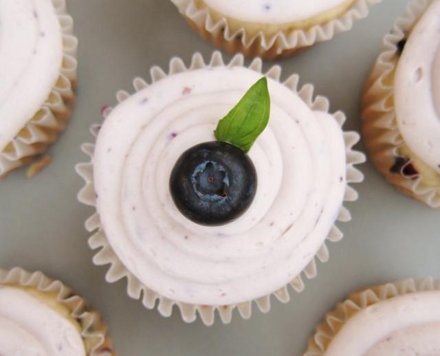 Blueberry Bourbon Basil Cupcakes (26)