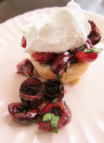 Cherry sorrel shortcake (7)