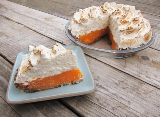 Mandarin Orange Persimmon Pie (6)