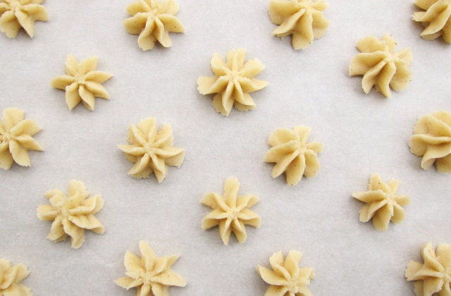 Salted spritz cookies (3)