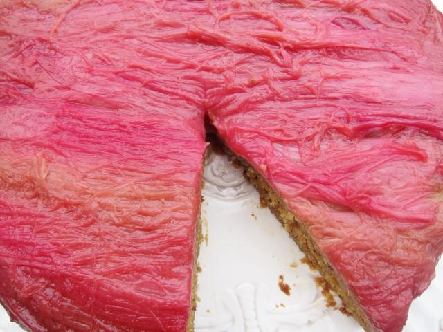 Rhubarb Banana Skillet Cake (11)