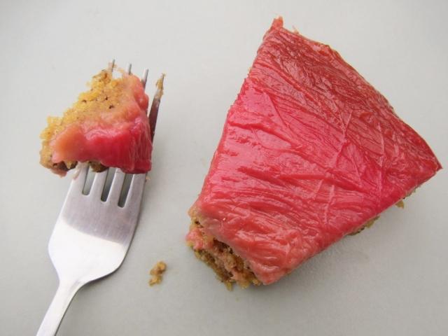 Rhubarb Banana Skillet Cake (14)