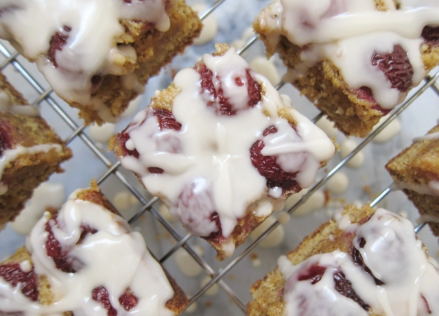 Cherry bourbon bars