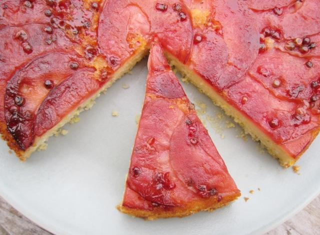 Pink Pearl Apple Skillet Cake (10)