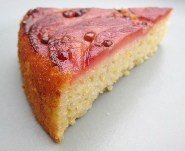 Pink Pearl Apple Skillet Cake (2)