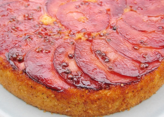 Pink Pearl Apple Skillet Cake (29)