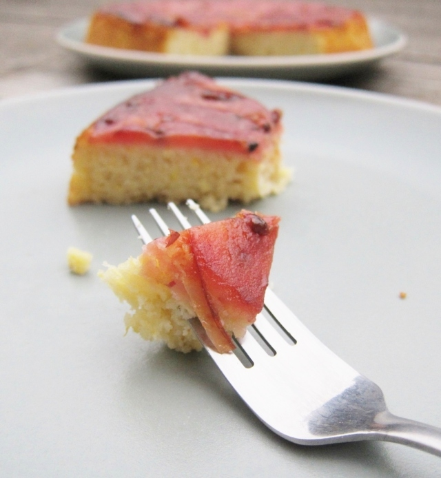 Pink Pearl Apple Skillet Cake (3)