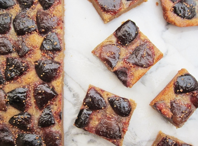 Whiskey Fig Browned Butter Bars (12)