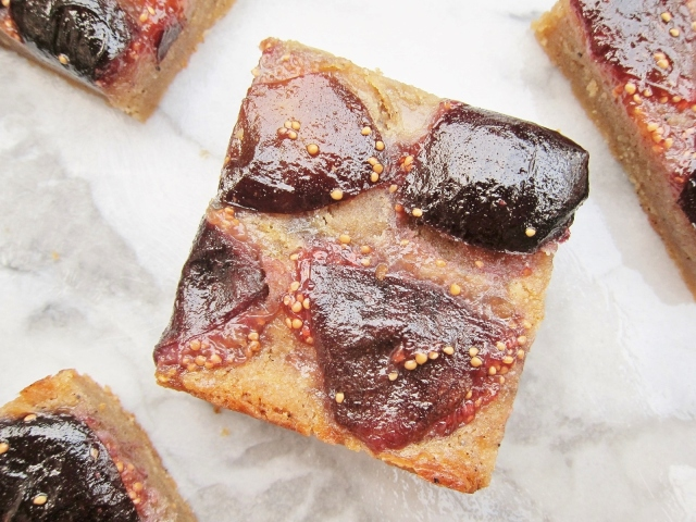 Whiskey Fig Browned Butter Bars (15)