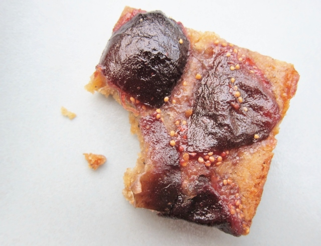Whiskey Fig Browned Butter Bars (19)