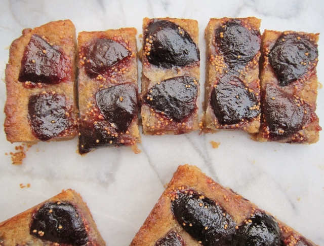 Whiskey Fig Browned Butter Bars (20)