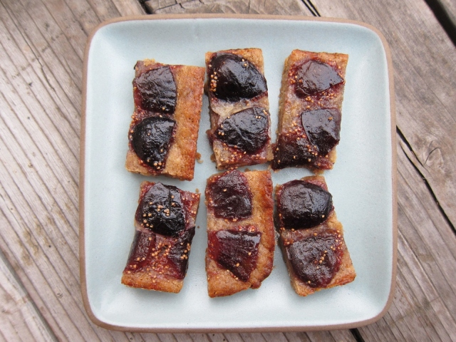 Whiskey Fig Browned Butter Bars (21)