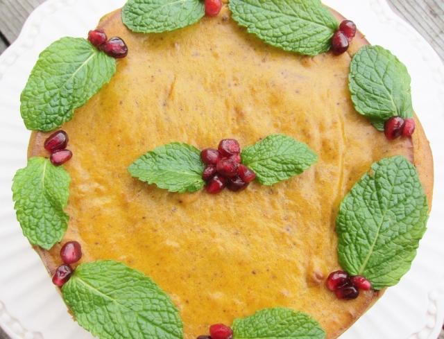 Pomegranate Pumpkin Cheesecake (11)