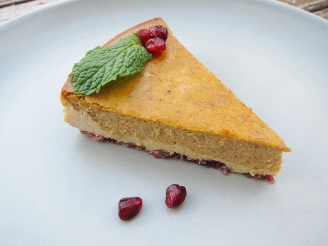 Pomegranate Pumpkin Cheesecake (15)