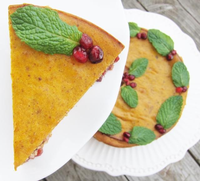Pomegranate Pumpkin Cheesecake (18)