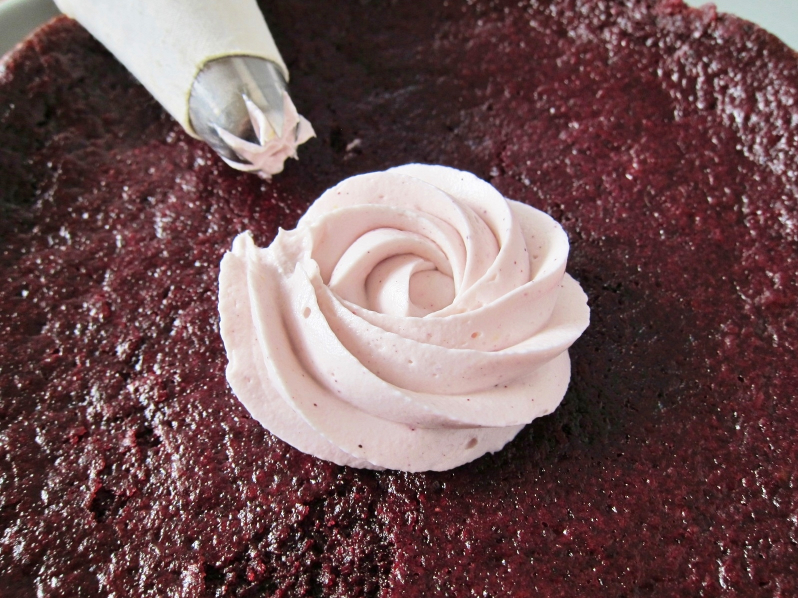 Tender Tangy Buttermilk Hibiscus Cake Butter Sugar Flowers